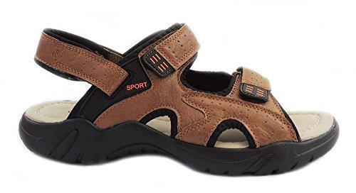 Ny Mote Eurbak Menns Sport Strand Sandal Komfort Sko Light Weight 1505 Tan