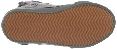 KangaROOS KangaVulcT 2045 - zapatilla deportiva de lona infantil gris - Grau (dk grey/mid grey/pink 226)