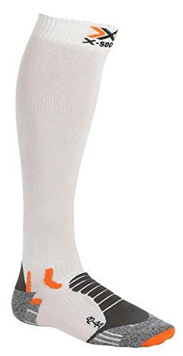 X-Socks Cross Comp Chaussettes Blanc