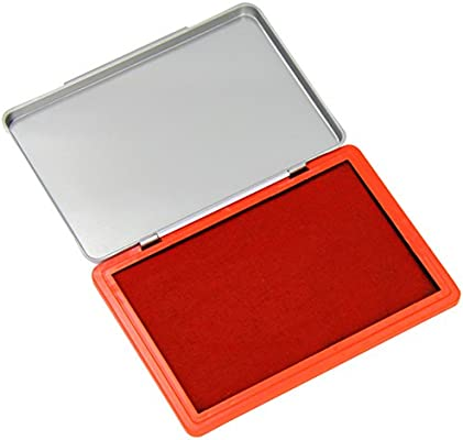 Q-Connect Large Stamp Pad Red KF15441