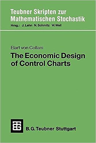 Economic Design of Control Charts (Teubner Skripten zur mathematischen Stochastik)