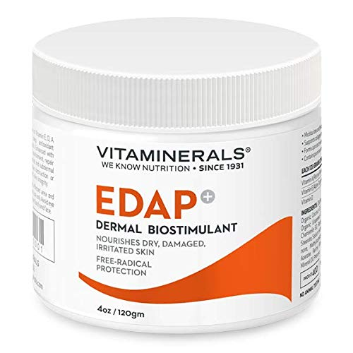 - VITAMINERALS 400 EDAP+ Skin Barrier & Repair Cream Strong base formula with Vitamin E, D, A and Panthenol (4oz)
