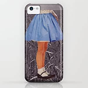 classic - Playing Field iPhone & iphone 5c Case by Rebecca Roe