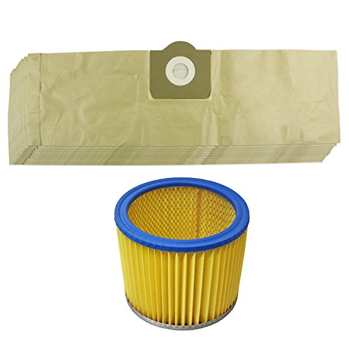 spares2go-filter-dust-bags-kit-for-parkside-lidl-pnts-1300-1400-1500-vacuum-cleaner-pack-of-10