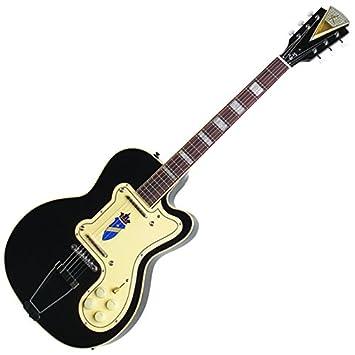 Kay Vintage Reissue K161VBK Guitarra eléctrica delgada doble ...
