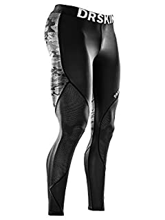 DRSKIN Men's Compression Pants Dry Cool Sports Baselayer Running Workout Active Tights Leggings Yoga (MESH MBB-B02, M) (B06XJ2H1X3) | Amazon price tracker / tracking, Amazon price history charts, Amazon price watches, Amazon price drop alerts