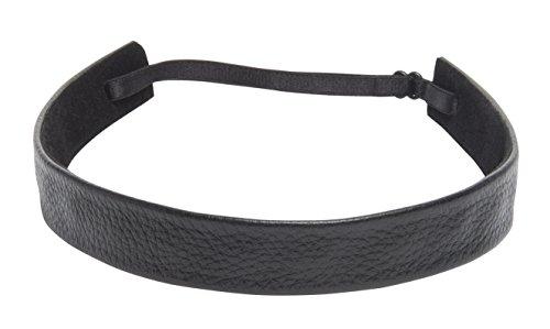 1907 Pebbled Leather Headband NHH028