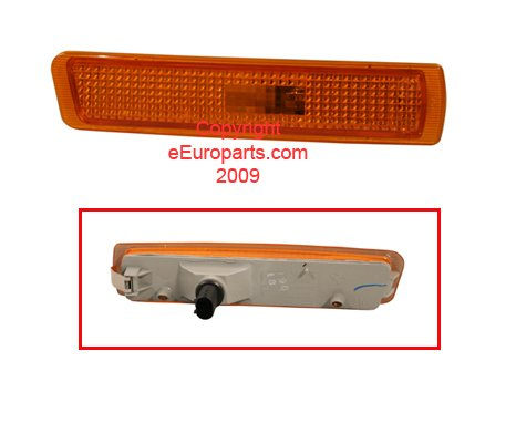 BMW Z3 M3 E36 USA Type OEM Genuine Front Bumper Side Marker Light 1996-2003 RIGHT