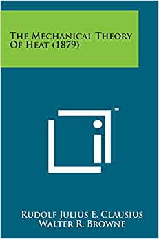 Book The Mechanical Theory of Heat (1879)