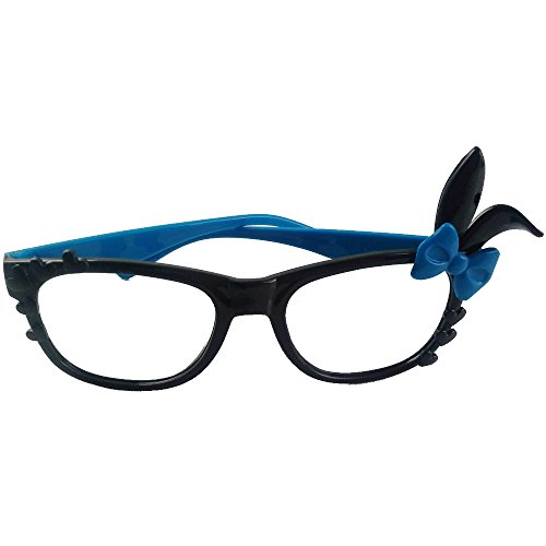 Price comparison product image Funny Rabbit Glassses Flame for Party (Blue)