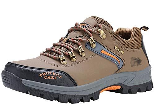 En Cuir Fuxitoggo Pour Baskets De Air Chaussures 44eu coloré Plein Trekking Taille Bottes 24 L'entraînement Randonnée Marche Hommes r880gn