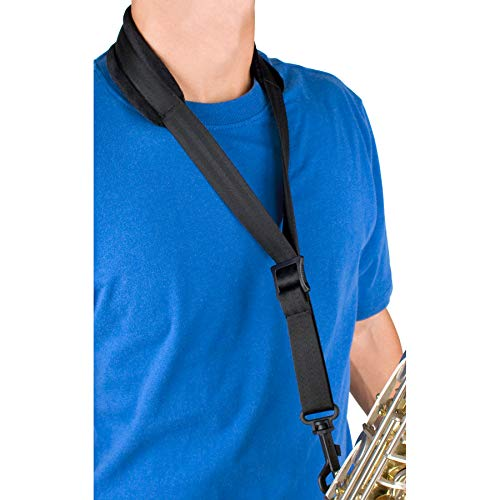 Pro Tec A310P 22-Inch Regular Padded Saxophone Neck Strap with Swivel Snap ()