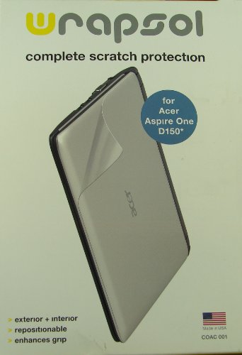 Complete Scratch Protection for Acer Aspire One Ao751h Wrapsol Complete Protection