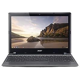 Acer C720-2844 11.6-inch Chromebook, Intel Celeron 2955U 1.4GHz, 4GB RAM, 16GB SSD (Renewed)