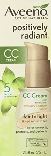 AVEENO Active Naturals Positively Radiant CC Cream Spectrum