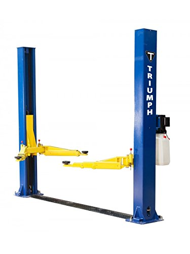 TRIUMPH NT-9 9000Lbs Two Post Floor Plate Lift (Best Home Car Lift)