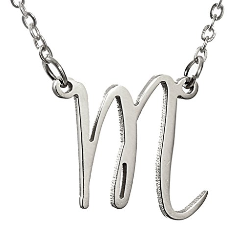huan-xun-stainless-steel-script-initial-pendant-necklace-charm-letter-m