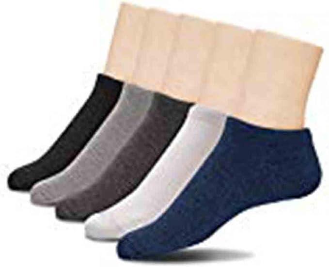 Primmark Trainer Socks – Calcetines deportivos de algodón y elastano, 5 pares negros – UK 6-8 / EU 40-42: Amazon.es: Ropa y accesorios