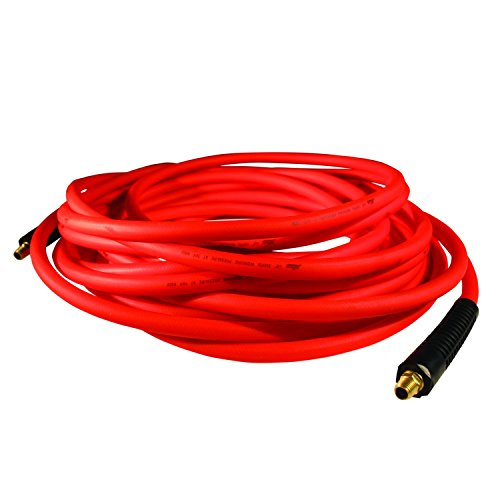 red air hose coiled - 7