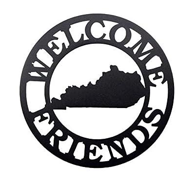 Kentucky 'Welcome Friends' Sign