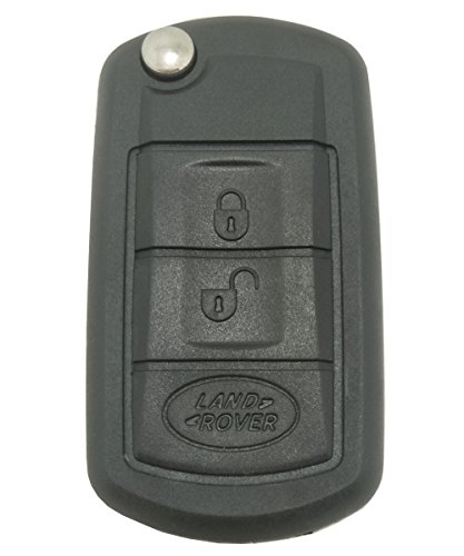 3 buttons Uncut Blank Smart Flip folding Horande Remote Key Shell fob Case for Land Rover Range Rover Sport LR3 Discovery