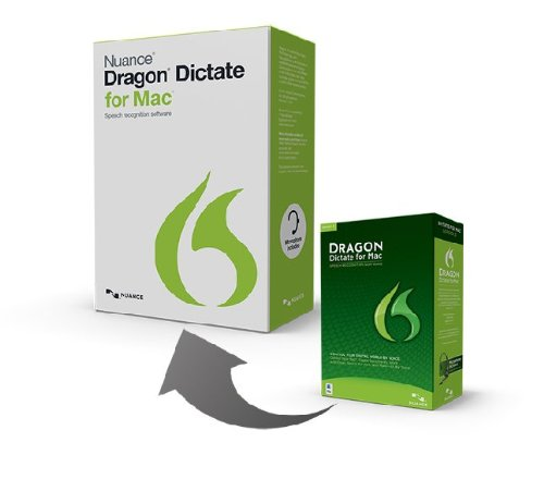 Dragon Dictate for Mac 4.0, Upgrade from Version 3.0 (Dragon Dictate 3 For Mac)