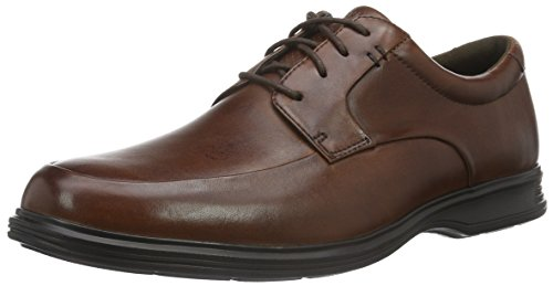 Rockport Dressports 2 Lite Apron Toe - Zapatos Hombre Marrón - Brown (New Brown Leather)