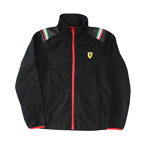 Ferrari Kids Polarfleece Jacket (3 Year, Black)