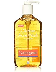Neutrogena Oil-Free Acne Fighting Face Wash, Daily Cleanser...