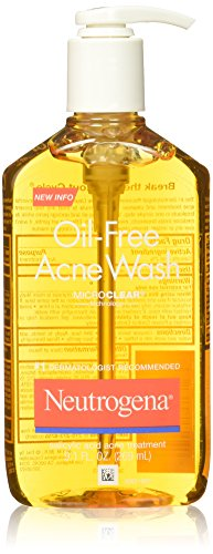 Neutrogena Oil-Free Acne Face Wash With Salicylic Acid, 9.1 Oz. (Pack of 3) Neutrogena Acne Soap