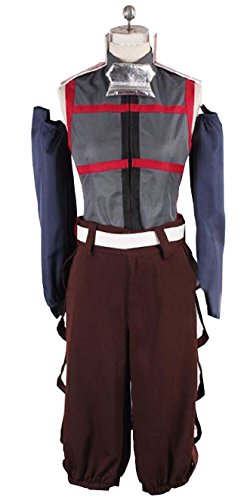 [Vicwin-one Log Horizon Akatsuki Uniform Cosplay Costume Outfits] (Log Costume)