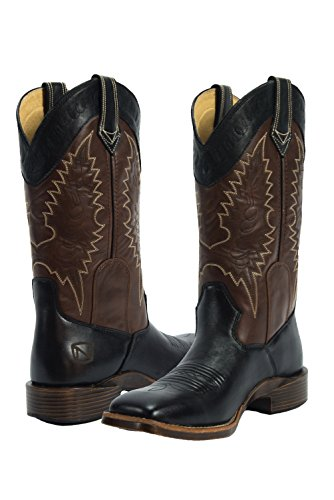 Boots Around All Outfitters Women 66004 Shank Square Steel Noble Black A1qI5W5