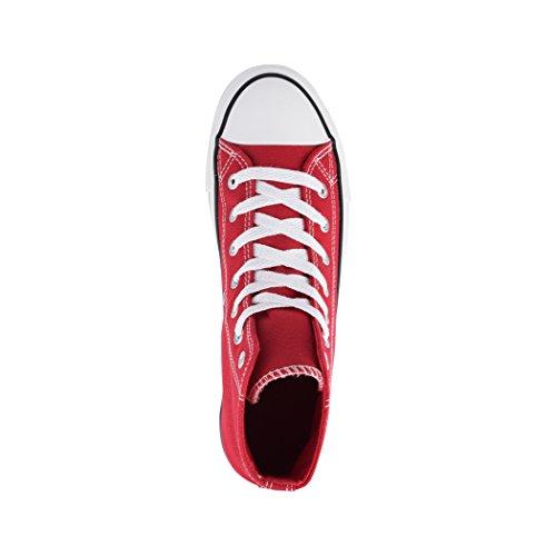 fällt Eine Elara Basic top Red Nummer Aus Größer Femme Low 6Xq61