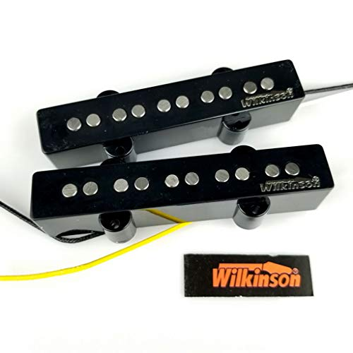 NEW - Wilkinson Premium WBJ5 5-String AlNiCo V Neck & Bridge Pickups for Jazz Bass JB