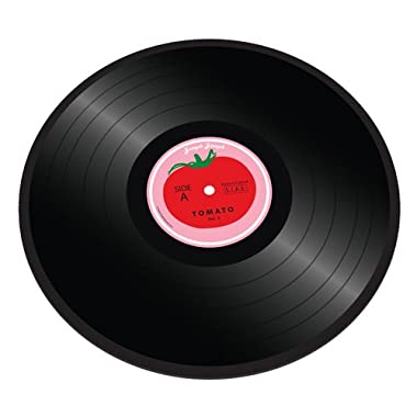 Joseph Joseph 16-Inch by 12-Inch Worktop Saver, Tomato Vinyl Record Design
