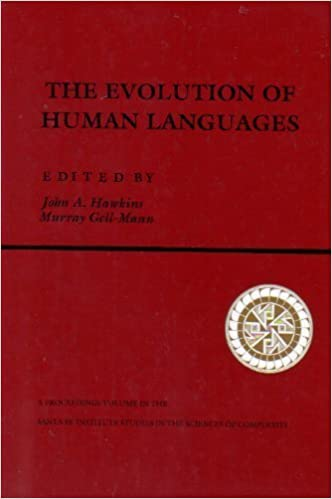 Book Evolution of Human Languages: 011 (Santa Fe Institute)