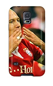Premium Arjen Robben Back Cover Snap On Case For Galaxy S5