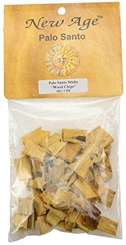 New Age Smudges & Herbs Palo Santo Chips, 1 oz Pack