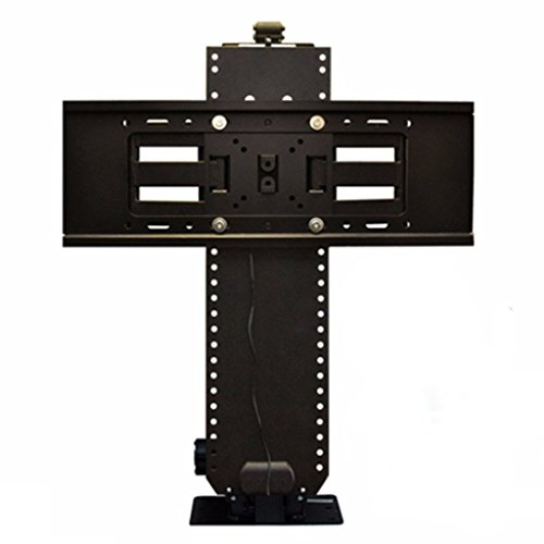 Touchstone 23501 - Whisper Lift II Pro Swivel TV Lift Mechanism - Swivel Bracket - 36 Inch Travel - Popup & Drop Down - Height Memory Feature, IR/RF, 12V Trigger Compatible - TVs Up To 68 Inch/100 Lbs