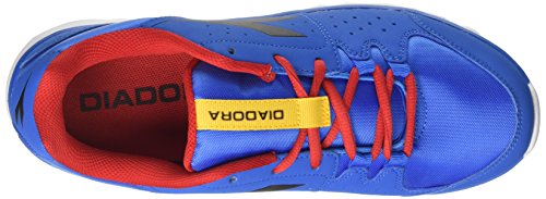 Blu Bleu Compétition de 8 Running Diadora Campana Chaussures Hawk Bianco Homme qCP08T