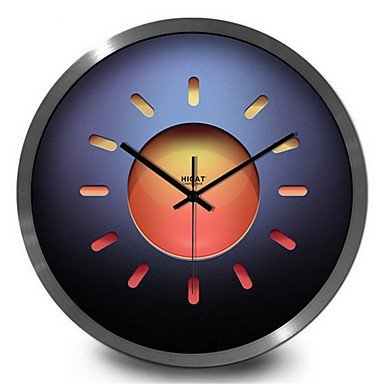 Amazon.com: YHEGV Digital Quartz Wall Clock, 30 cm, Black ...