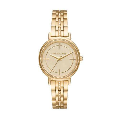Michael Kors Women's Quartz Stainless Steel Casual Watch, Color:Gold-Toned (Model: MK3681) by Michael Kors