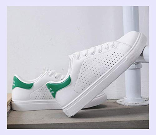 Sneakers XINGMU Shoes Lace Green White Fashion Up New Sewing Casual Ladies Women Shoes Female Shoes Aqgw4