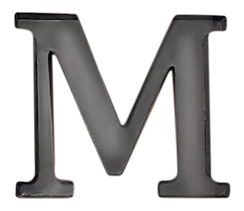 Personalized Letter Metal Wall Holder