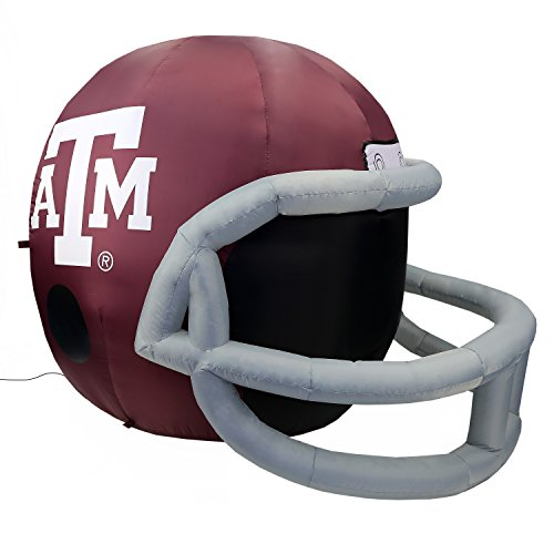NCAA Texas A&M Aggies Team Inflatable Lawn Helmet, Red, One Size -