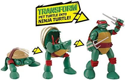 Teenage Mutant Ninja Turtles Mutations Pet To Ninja Raphael Action Figure