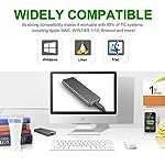 Hattahh-Hard-Disk-1-TB-Esterno-Portatile-Ultra-Slim-Type-C-USB-31-Hard-Disk-Esterno-per-PC-Mac-Windows-Apple-Xbox-Xbox-One-1TB-Rosso