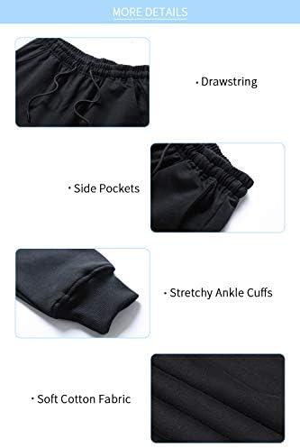 yuyangdpb Men's Athletic Joggers Pants Running Pants Cotton Sweatpants with Pockets 6