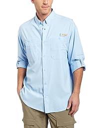Columbia Men\'s Plus Tamiami II Long Sleeve Shirt, Sail - Large