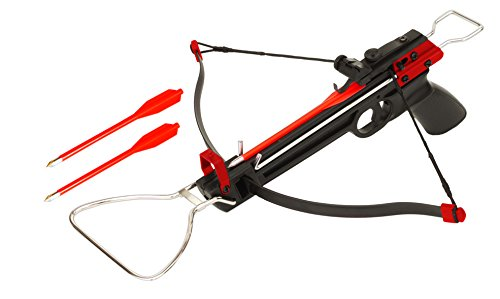 BOLT Crossbows The Pulse Crossbow, Black/Red, One Size